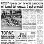 Archivio prime pagine SPORTquotidiano 2007