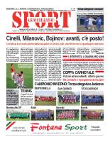 N.2 – Prima Pagina Sport Quotidiano del 18 gennaio 2013