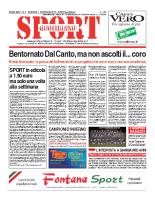 N.4 – Prima Pagina Sport Quotidiano del 01 febbraio 2013