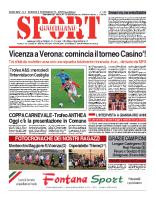 N.5 – Prima Pagina Sport Quotidiano del 8 febbraio 2013