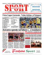 N.6 – prima Pagina SportQuotidiano del 15 Febbraio 2013