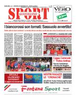 N.7 – prima Pagina SportQuotidiano del 22 Febbraio 2013