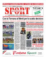 N.10 – prima Pagina SportQuotidiano del 15 Marzo 2013