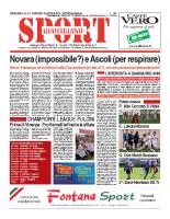 N.14 – prima Pagina SportQuotidiano del 12 Aprile 2013