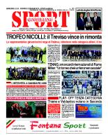 N.21 – prima Pagina SportQuotidiano del 31 maggio 2013