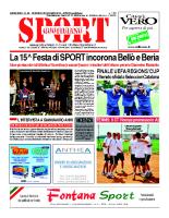 N.25 – Prima Pagina SportQuotidiano del 28 Giugno 2013