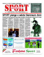 N.29 – Prima Pagina SportQuotidiano del 31 luglio 2013