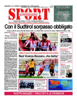 N.39 – Prima Pagina Sport Quotidiano del 1 novembre 2013