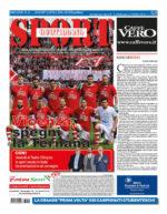 La prima pagina di SPORT in edicola venerdì 15 aprile