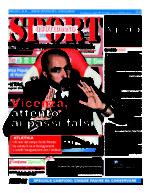 La prima pagina di SPORT in edicola venerdì 29 aprile