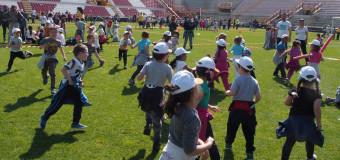 """""""Giovani per il pianeta"""", oltre 3.500 alunni allo stadio Menti"""