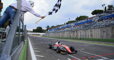 F4 a Vallelunga, due pole e due doppiette per il team Prema
