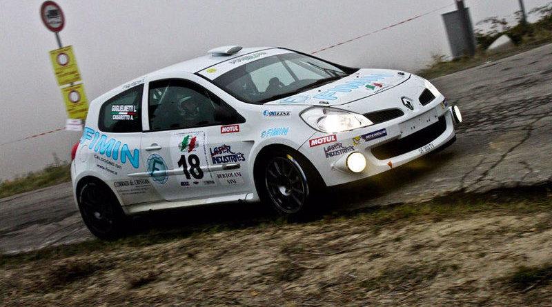 Casarotto in azione al Rally Appennino Reggiano 2016