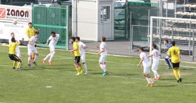 Altovicentino sconfitto a Campodarsego: 2-1