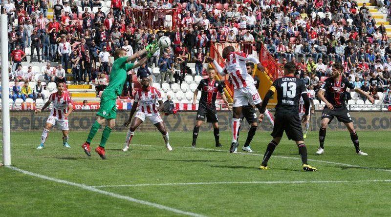 Vicenza Pro-Vercelli 0-1, ancora un ko al Menti (VIDEO)