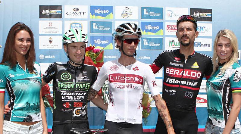 Mauro Facci sul podio de La Leggendaria Charly Gaul (ph Newspower)
