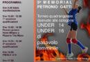 Volley Asiago, domenica all'IPSIA Il 5° Memorial Petronio Gatti