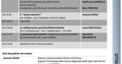 """CONI, a Vicenza sabato 30 settembre il corso """"Per un fisco amico bisogna… essere sul pezzo"""""""