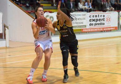 VelcoFin Vicenza, non c'è due senza tre: Fanola battuto 66-48