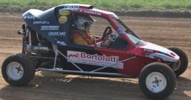 Visintin alla prima nel campionato italiano Autocross