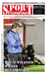 La prima pagina di SPORTvicentino in edicola venerdì 27 ottobre