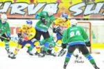 Alps Hockey League, Asiago ko. Olimpija corsara all'Odegar: 3-4