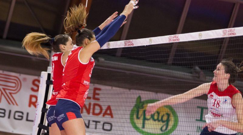 Volley Montecchio, sabato in Sicilia per la salvezza