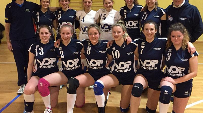 La seconda divisione Asiago Volley