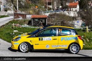 Casarotto al International Rally Cup