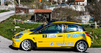 Casarotto al International Rally Cup