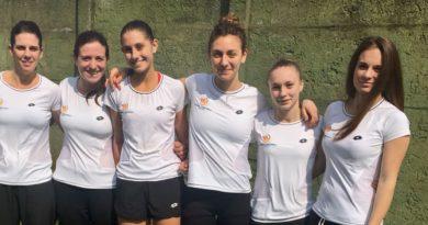 """Tennis Comunali Vicenza, un successo e un pari per la """"prima"""" in serie C"""