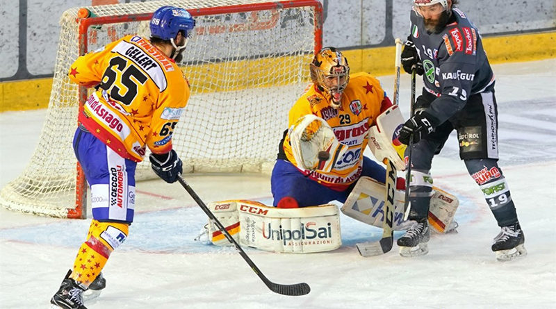 gara 4 di finale tra Asiago Hockey e i Rittner Buam