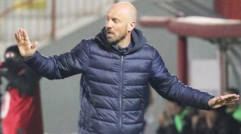 Nicola Zanini allenatore del Vicenza Calcio