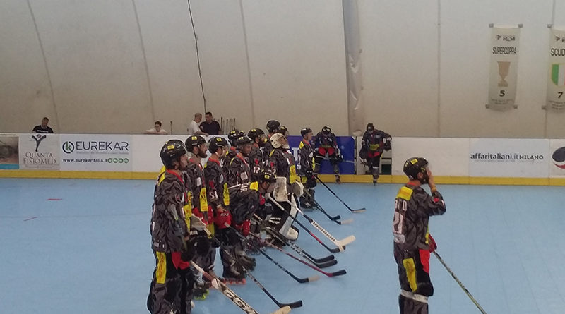 Gara 5 finale di pay off hockey Milano Vicenza