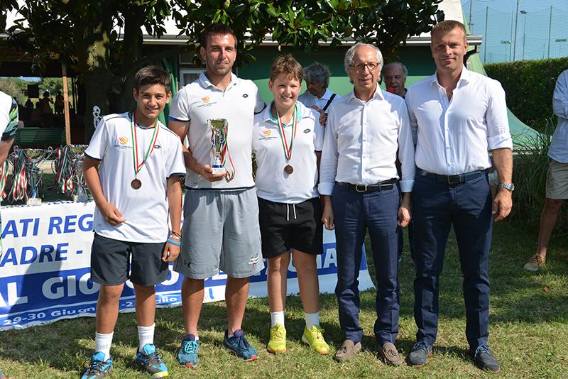 La squadra Under 12 di Fabrizio Cavestro