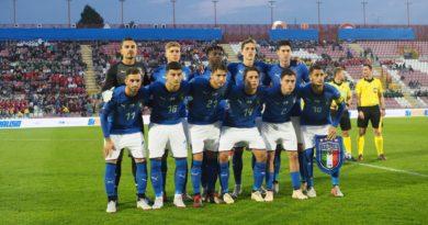 Arriva a Vicenza la Nazionale U21