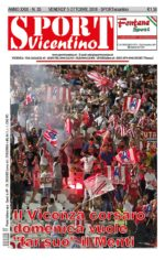 La prima pagina di SPORT in edicola venerdì 5 ottobre