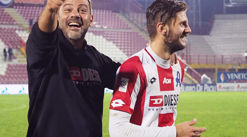 Giovanni Colella dopo LR Vicenza - Virtus Verona 3-2