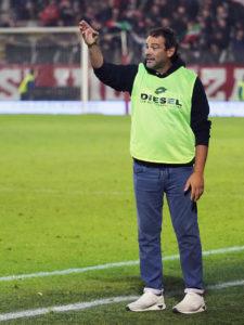 Giovanni Colella dopo Imolese - LR Vicenza 2-1