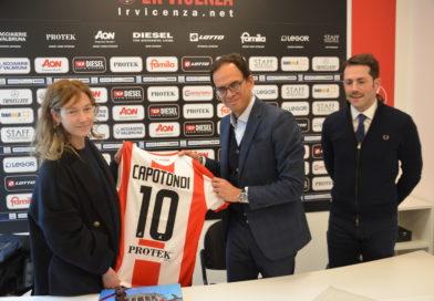 CALCIO – Cristiana Capotondi al LR Vicenza