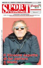 La prima pagina in edicola venerdì 11 gennaio