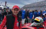 Davide Rigon al lavoro al Simulatore della Scuderia Ferrari