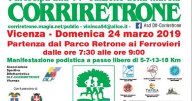 """Domenica 24 marzo torna la """"CorriRetrone"""""""