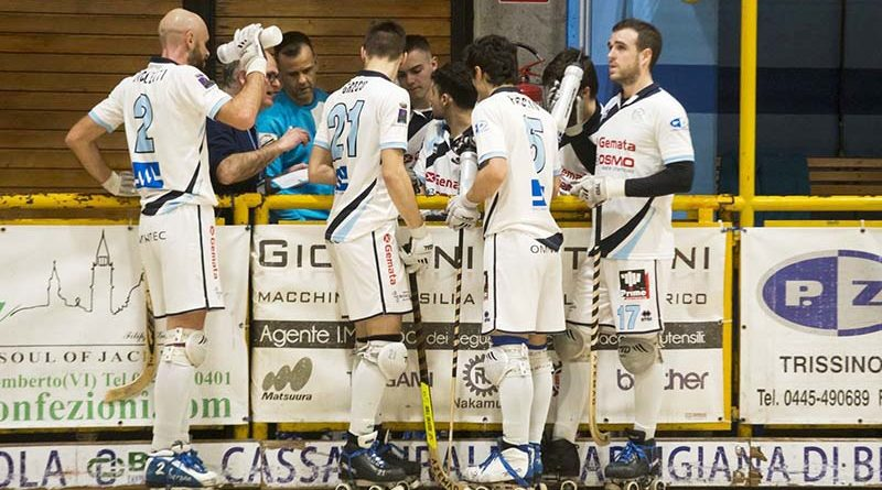 Hockey Trissino all'ultima trasferta di regular season