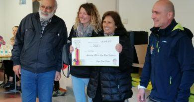 ARZIGNANO – La camminata per la Vita dona 3 mila euro alla fondazione Baschirotto