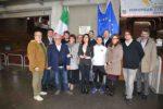 Vicenza Città Europea dello Sport 2017, al palazzetto la targa di candidatura