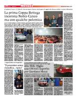 La prima coppa Bettega incorona Nobis-Caneo ma con qualche polemica (20 febbraio 2015)