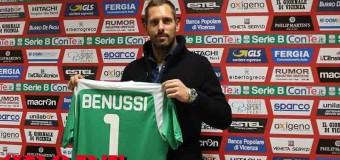 Presentato il numero 1 del Vicenza: Francesco Benussi
