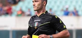 L'arbitro di Cesena-Vicenza: Aleandro Di Paolo