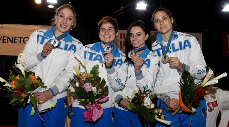 Vicenza, 23 Aprile 2015 Sciabola Femminile a squadre